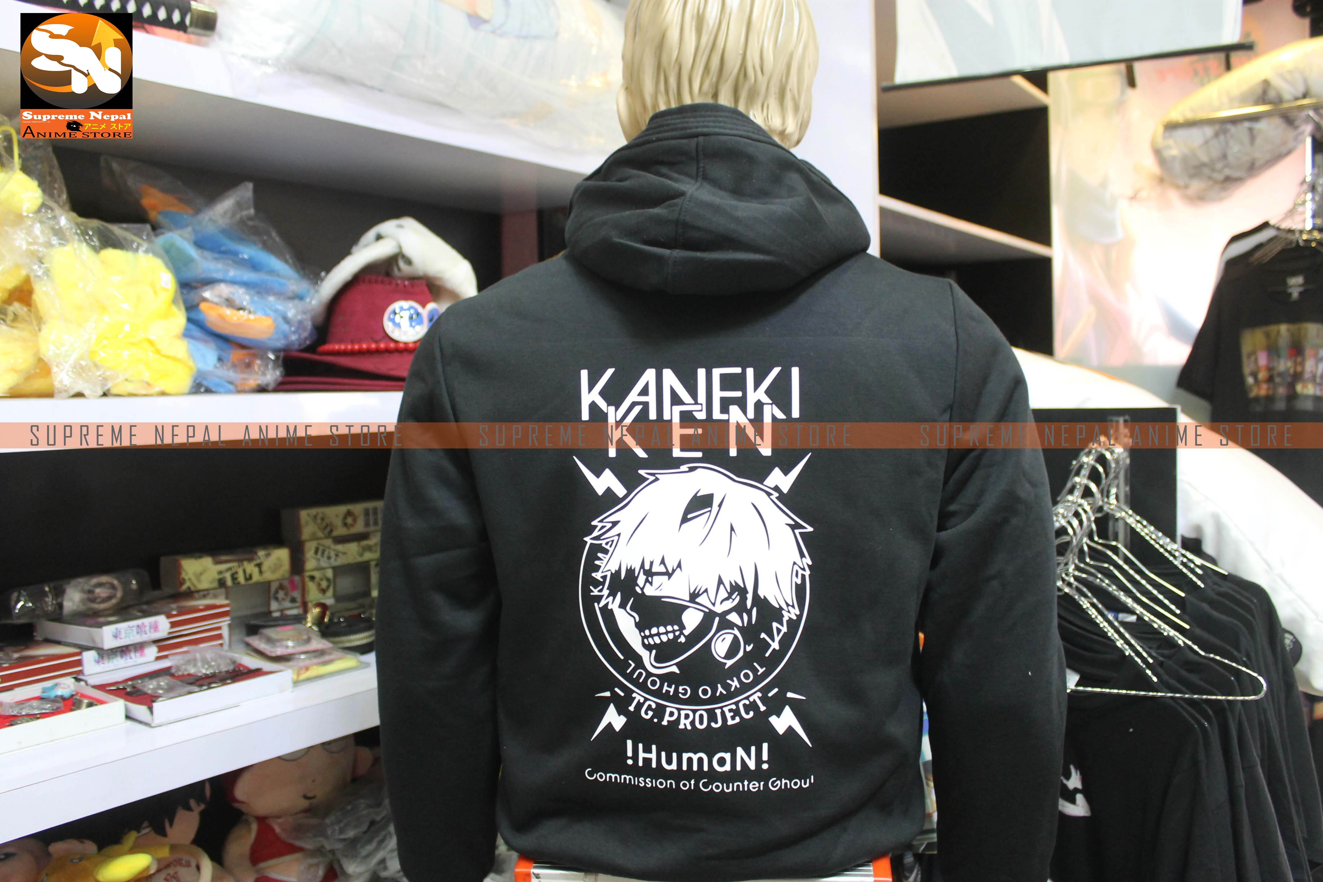 Tokyo Ghoul Kaneki Ken Hoodie Anime Store